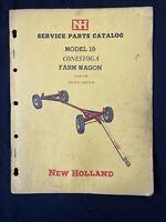 New Holland Service Parts Catalog Model 19 Farm Wagon *1070
