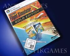 Microsoft Flug Flight Simulator X Professional & Acceleration Pack =Gold Edition