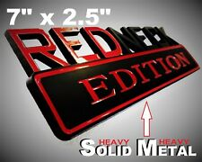 SOLID METAL Redneck Edition BEAUTIFUL EMBLEM Tesla GMC SUV Volkswagon Logo Badge