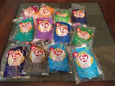 McDonald's 1998 Ty Teenie Beanie Babies - Set of 12
