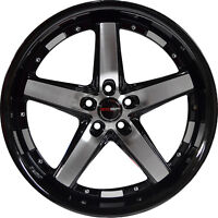 4 GWG DRIFT 20 inch Black Machined Rims fits LAND ROVER RANGE ROVER HSE 2003-05