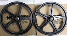 "Skyway Tuff Wheel 2 Mag WHEEL SET Black 20"" Freewheel WHEELSET"