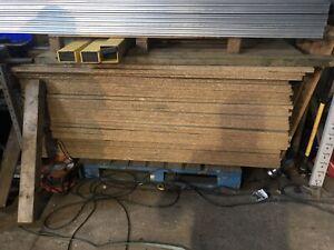chipboard sheets 2.7 X 900 X 25mm