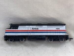 Bachmann Amtrak #100 Diesel Locomotive Vintage HO Scale