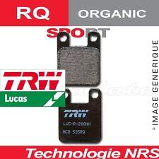 Plaquettes de frein Avant TRW Lucas MCB 75 RQ pour Beta 50 Tempo (KTMGO50) 97-98