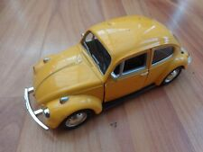 1/36 CLASSIC YELLOW VW VOLKSWAGEN BEETLE - COLLECTABLE DIECAST MODEL CAR