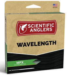 SA Wavelength MPX WF-3 Floating Fly Line -  Amber/Green - New - Free Ship