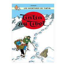 Tim Struppi Snowy Tin sign Tintin Milou Plaque metal Le secret de la Licorne