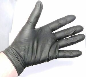 cleaning dyeing protective gloves Black Gloves 12 Medium