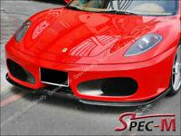 HT Type Carbon Fiber Front Spoiler Lip for Ferrari F430 / Spider 2004-2009