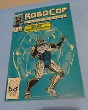 1990 ROBOCOP THE FUTURE OF LAW ENFORCEMENT #4 COMIC BOOK BABY BROTHER !!