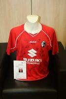 SC Freiburg Trikot 2004/2005, Teamsigniert, Bundesliga, Fußball Autogramm Gr. XL