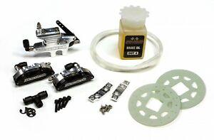 Mecatech Doppelkolben Hydraulikbremse, inkl. Bremsentlüftungs-Set - 1001 - brake
