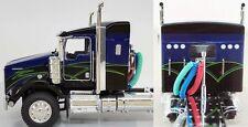 DCP BLACK BLUE KENWORTH T800 CAB ONLY DIECAST 33946 C