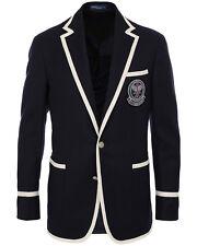 POLO Ralph Lauren Wimbledon Tennis umpires blazer nuova con etichetta taglia 48 Long-XL