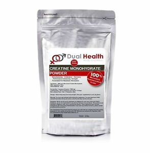 Micronized Creatine Monohydrate (2 lbs) Pure Powder Muscle Pharmaceutical Kosher