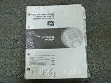 John Deere 410E Backhoe Loader Shop Service Repair Technical Manual TM1611
