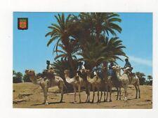 Marruecos Tipico Caravane de Meharistes de M'Hamid Morocco 1979 Postcard 526a