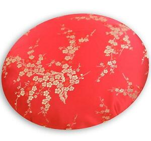 Round Shape Cover*Chinese Rayon Brocade Floor Chair Seat Cushion Case *BL10