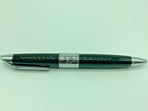 Vintage Balmain Ball Point Pen Black Silver / Black Ink