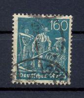 DR 190 Freimarke 160 Pfg. Wz. Waffeln gestempelt tiefst geprüft (or101)