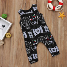 Star Wars Darth Vader inspired Baby grow romper suit Gothic Baby suit clothes