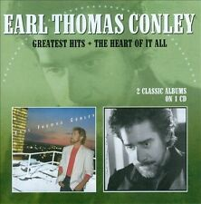 Greatest Hits/The Heart of It All * by Earl Thomas Conley (CD, Aug-2017,...