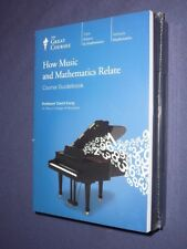 Teaching Co Great Courses CDs  :      HOW MUSIC and MATHEMATICS RELATE      new