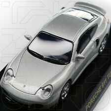 PORSCHE 911 TURBO 996 MINICAR COLLECTION KYOSHO 1:64 SILVER post 993 pre 997 NIB