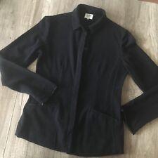 ♥ ARMANI COLLEZIONI ♥ Blazer Strickjacke ♥ schwarz Wolle  I 44 = D 38 ♥