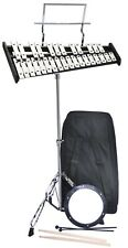 Student Bell Kit Sets,with Practice Pad Mallets Sticks Stand Glockenspiel