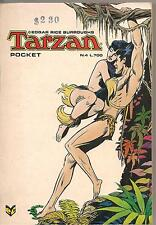 Tarzan #4 1976 Bronze Age B+W Italian Lang Fumetto Digest F, VF+
