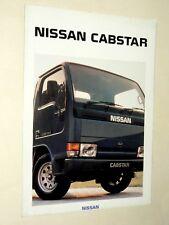 Prospectus Fourgon NISSAN CABSTAR  Camion Truck LKW Prospekt Brochure