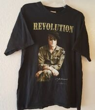 JOHN LENNON Revolution Imagine Size Large Men's Shirt The Beatles