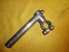 Potence guidon de vélo ancien, aluminium,peugeot,terrot,motobécane,alcyon…