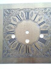 Hermle - antiqued square Mantel  clock dial for 350-351-1050-1051 mov, 200x200