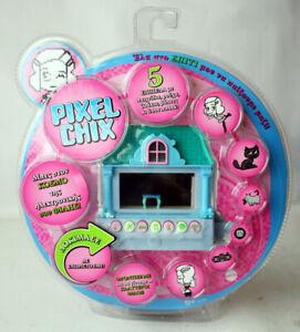 RARE 2006 PIXEL CHIX HOUSE HOME VIRTUAL FRIEND GAME MATTEL NEW SEALED !