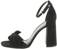 Marc Fisher Ankle Strap Bow Pumps Malden Black 8.5M NEW A303053