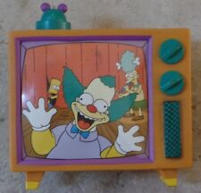 The Simpsons Krusty The Clown Cotton T-Shirt Size XL in Rubber TV Set NEW RARE