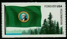 US 2012 SCOTT #4328 WASHINGTON STATE FLAG 42c FLAGS OF OUR NATION SET 2 VF STAMP