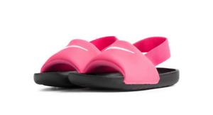Nike Kawa Slide (TD) BV1094 610 pink/black Toddler Shoes