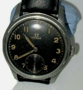 GENTS Stainless steel Omega Suveran Original Black Dial
