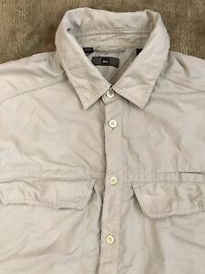 REI Vented Nylon Hiking Long Sleeve Sleeve Shirt - Large