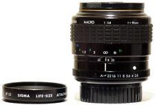Sigma 90mm f/2.8 1:2 Macro A Lens Pentax KA/K7/PKA/K-1 Full Frame