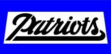 """NFL * NEW ENGLAND PATRIOTS FONT STENCIL * FREE USA S&H * 8"""" x 4"""" (inches)"""