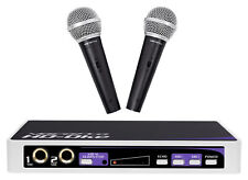 VOCOPRO HD-OKE Dual Microphones w/ Karaoke Interface+Mic Mixer+HDMI