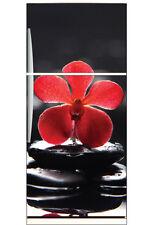 Adesivi frigorifero frigidaire Orchid rosso 70x170cm ref 6204