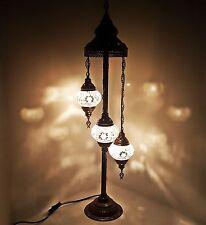 Beau Turkish Marocain Style Tiffany Mosaïque De Verre Lampadaire Veilleuse
