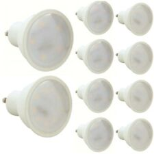 4 or 10 x LED GU10 Light Bulbs Energy Saving Lamps Spotlight Warm or Cool White