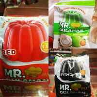 3x Mr. Gulaman Unflavoured Jelly Powder 25g - Buko Pandan Black and Red  choices